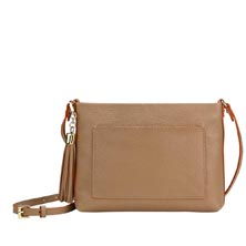 East End Leather Crossbody Bag