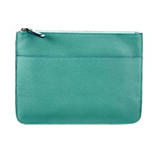 Leather Front Pocket Clutch