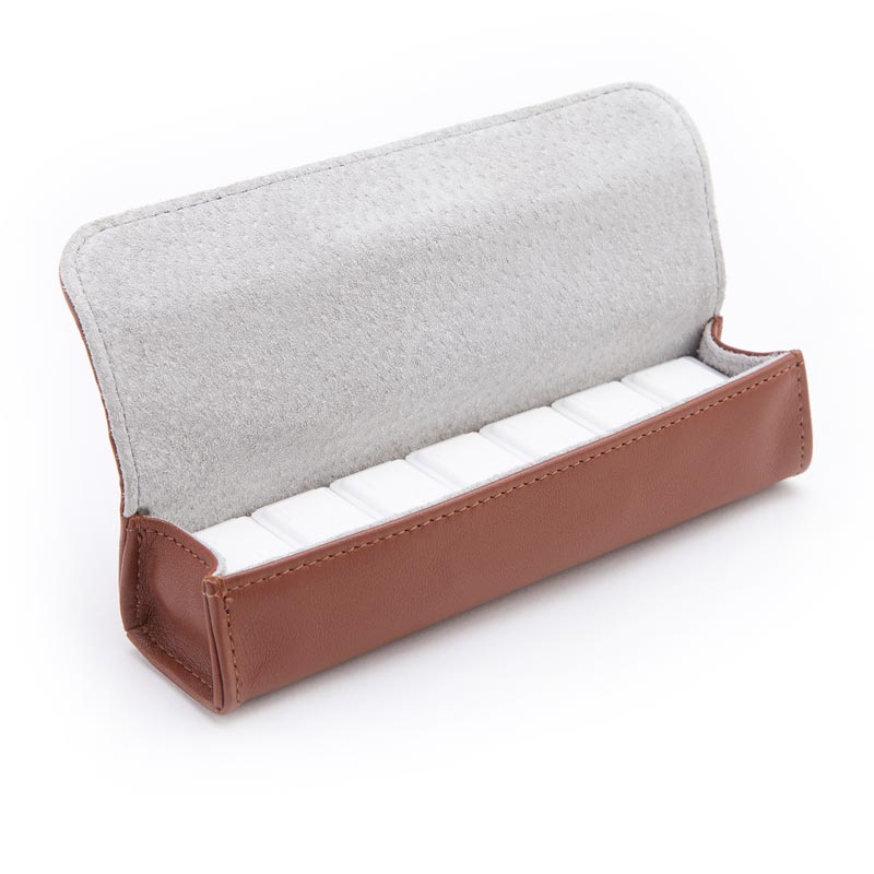 Leather Pill Storage Case