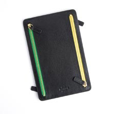 RFID Double Zip Document Holder