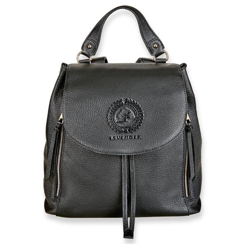 Legacy Leather Backpack - Black