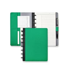 Prestige Circa® Foldover Notebook - Kelly Green