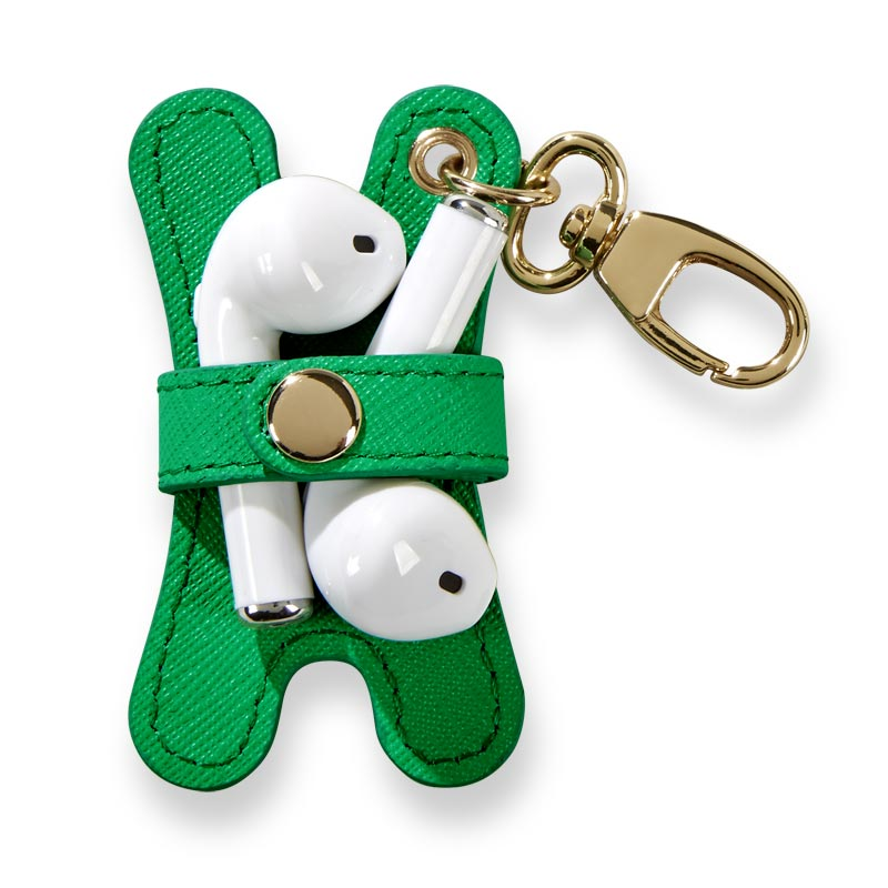Prestige Pocquettes™ Earbud Holder - Kelly Green