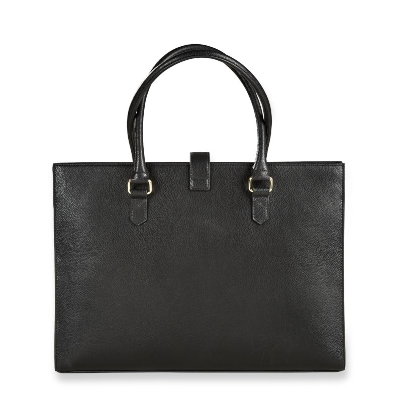 Office On-the-Go Leather Legal File Tote