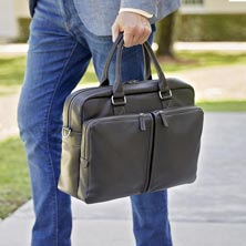 Bomber Jacket Commuter Briefcase