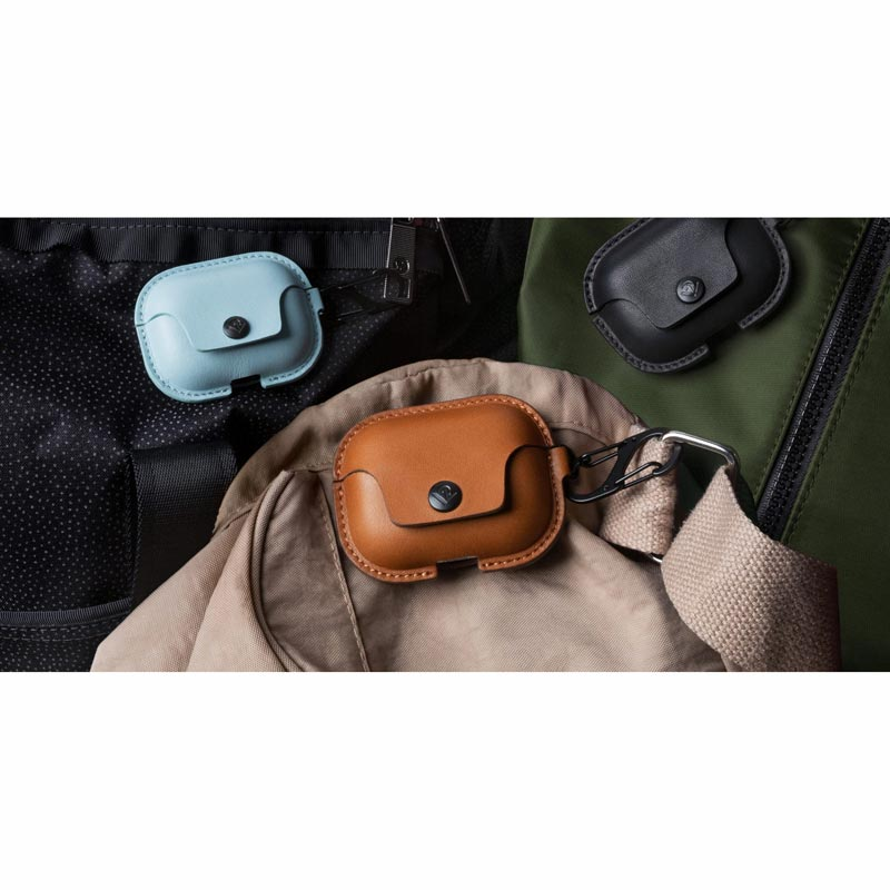 Air Snap Pro Leather Case for AirPods
