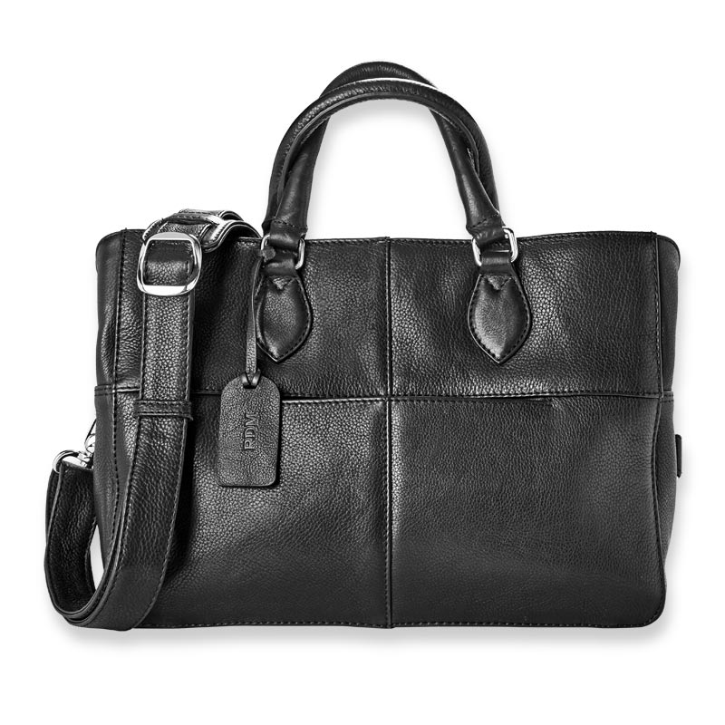 Amelia Three-Compartment Satchel