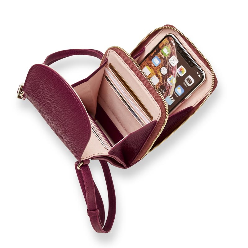 Amelia Accordion Phone Wallet