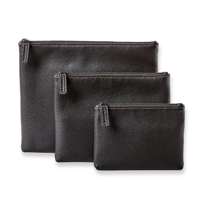 Bomber Jacket Carry-All Pouches (set of 3)