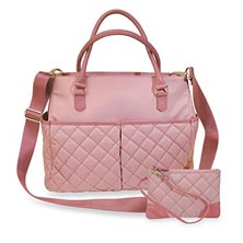 Charlotte Tote and Pouch Kit, Quilted Nylon