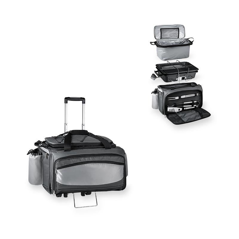 Vulcan Ultimate BBQ Kit Cooler with Trolley