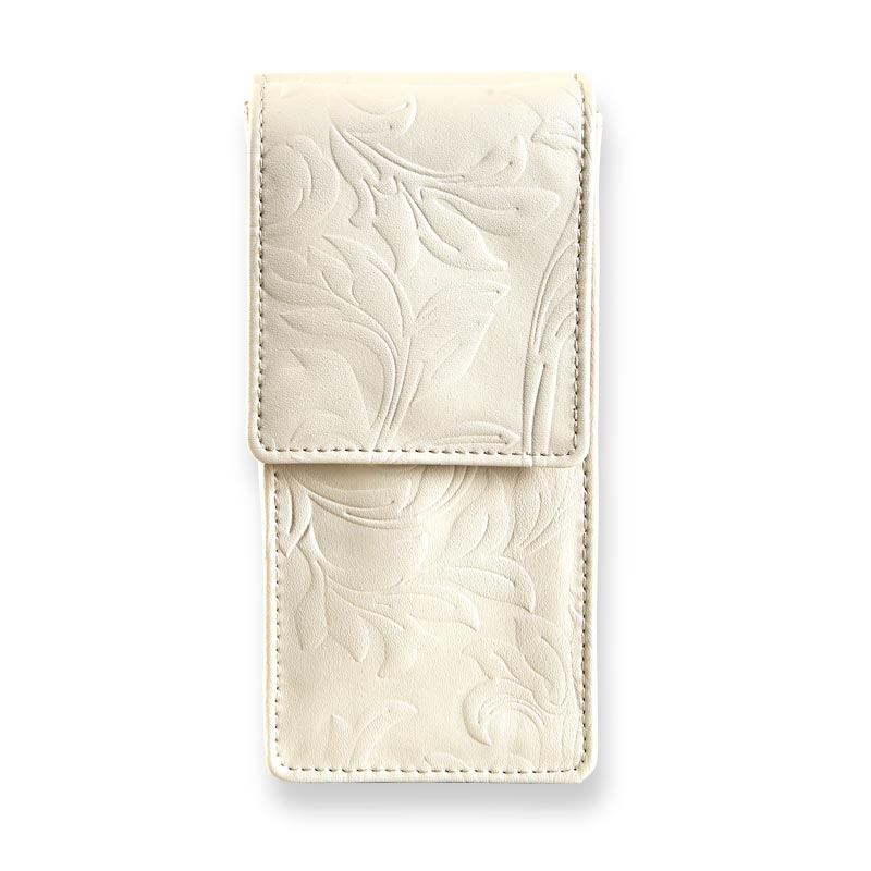 Filigree Add an Eyeglass Pouch - Eggshell
