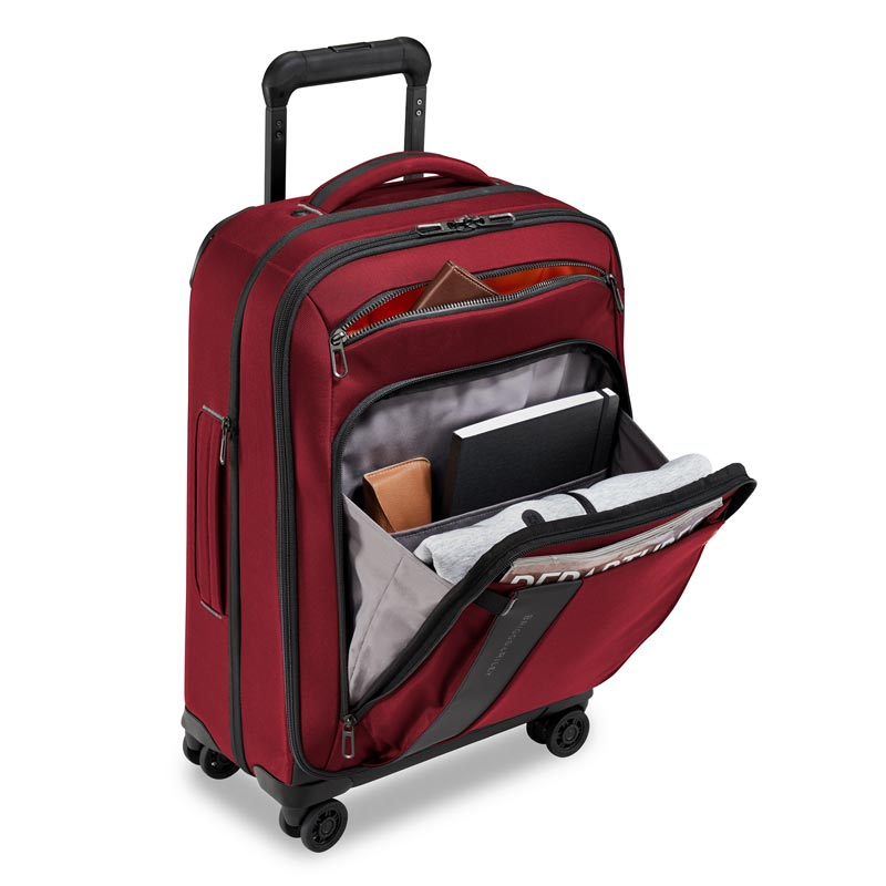 """ZDX 22"""" Carry-On Expandable Spinner"""