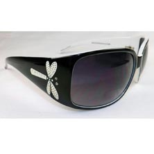 Dragonfly Crystal Sunreader Glasses