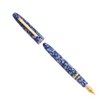 Estie Blueberry Fountain Pen - Gold