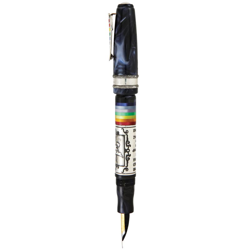 Marlen Peace Fountain Pen - Rainbow