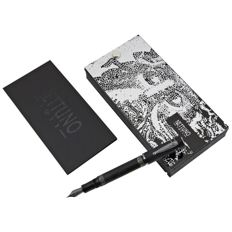 Nettuno 1911 Black Sands Fountain Pen