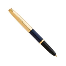 Aurora Duo Cart Fountain Pen - Dark Blue