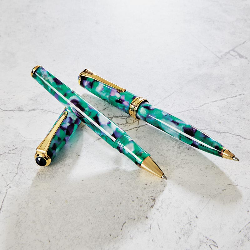 True Writer® Classic Green Mosaic Rollerball