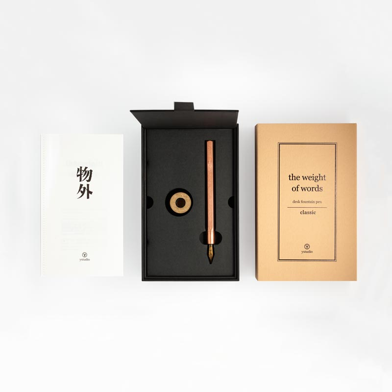 ystudio Desk Fountain Pen