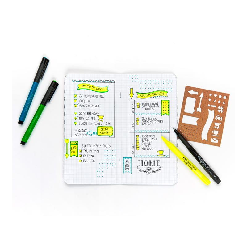Faber-Castell Pitt Pen Journaling Set