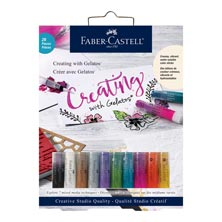 Faber-Castell Creating with Gelatos Art Set