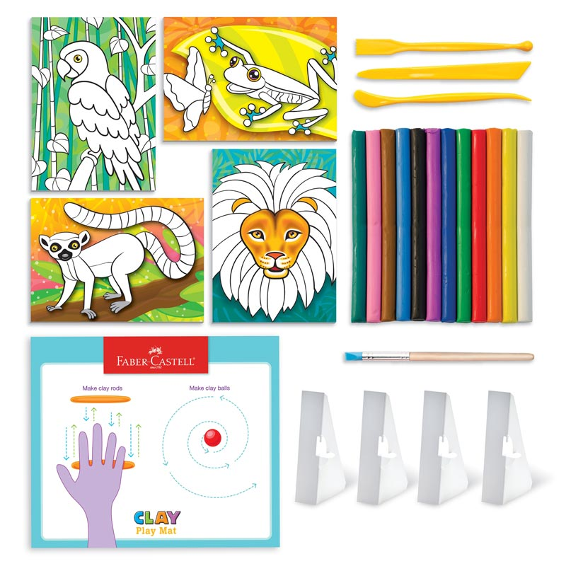 Faber-Castell® Do Art Coloring with Clay