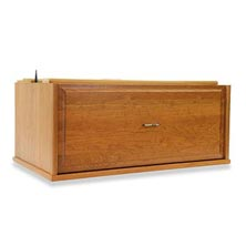 Barrister Lateral File Drawer Section - Natural Cherry