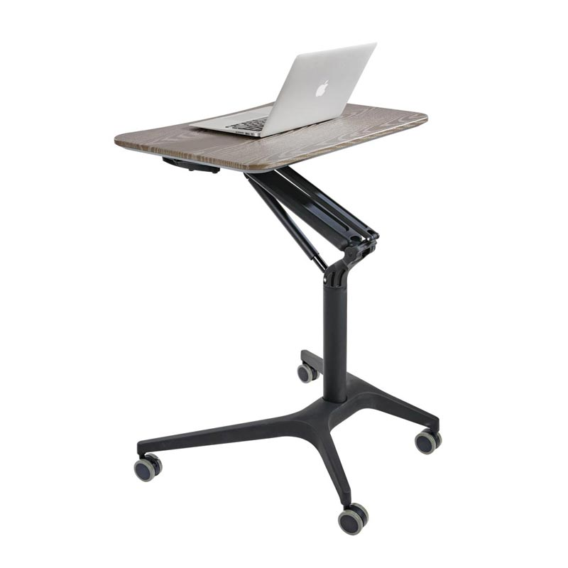Sit-to-Stand Rolling Workstation 2.0 -  Grey