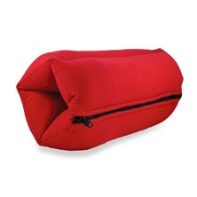 Yogibo ZippaRoll Comfort Pillow - Red