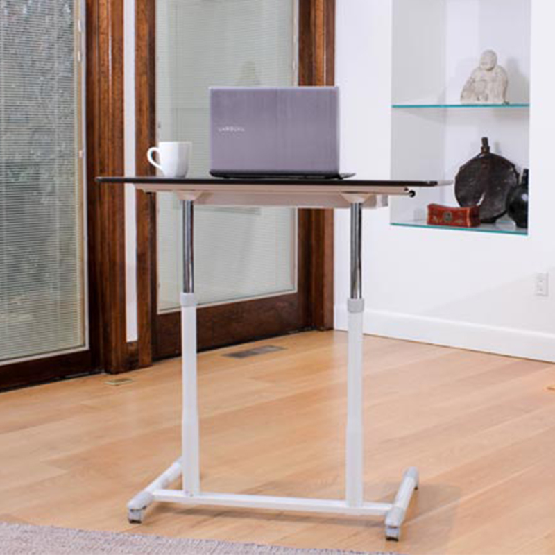 Height Adjustable Laptop Desk Espresso