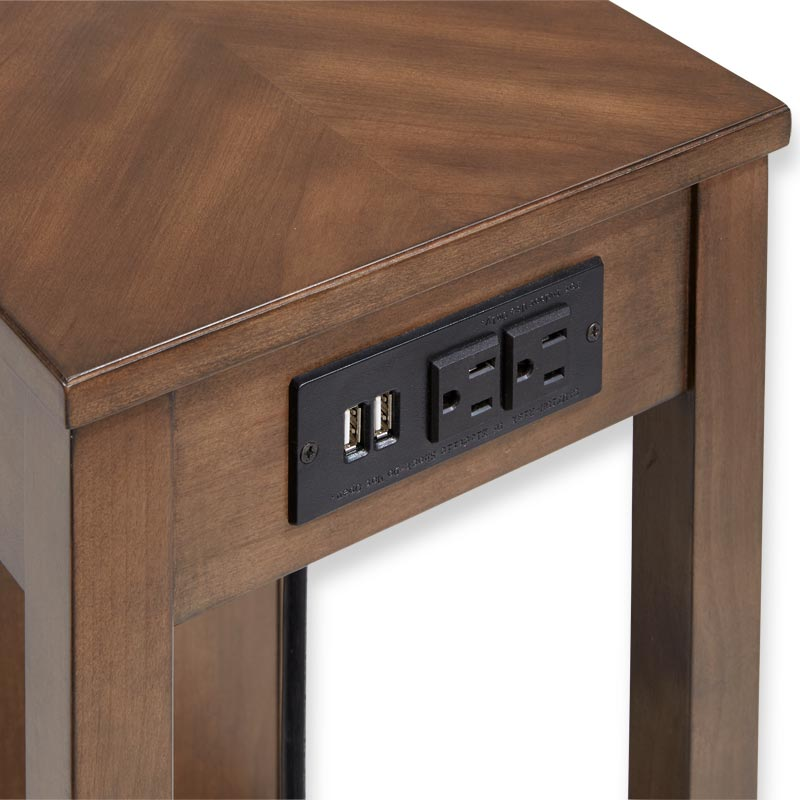 Tech Enhanced No-Room-for-a-Table™ Table with Drawers