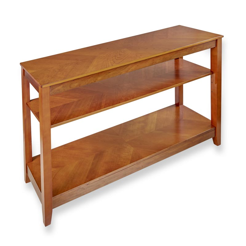 No-Room-for-a-Table Console Table with Shelf