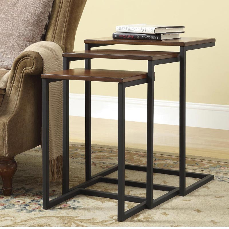 Modern Nesting Tables (Set of 3)