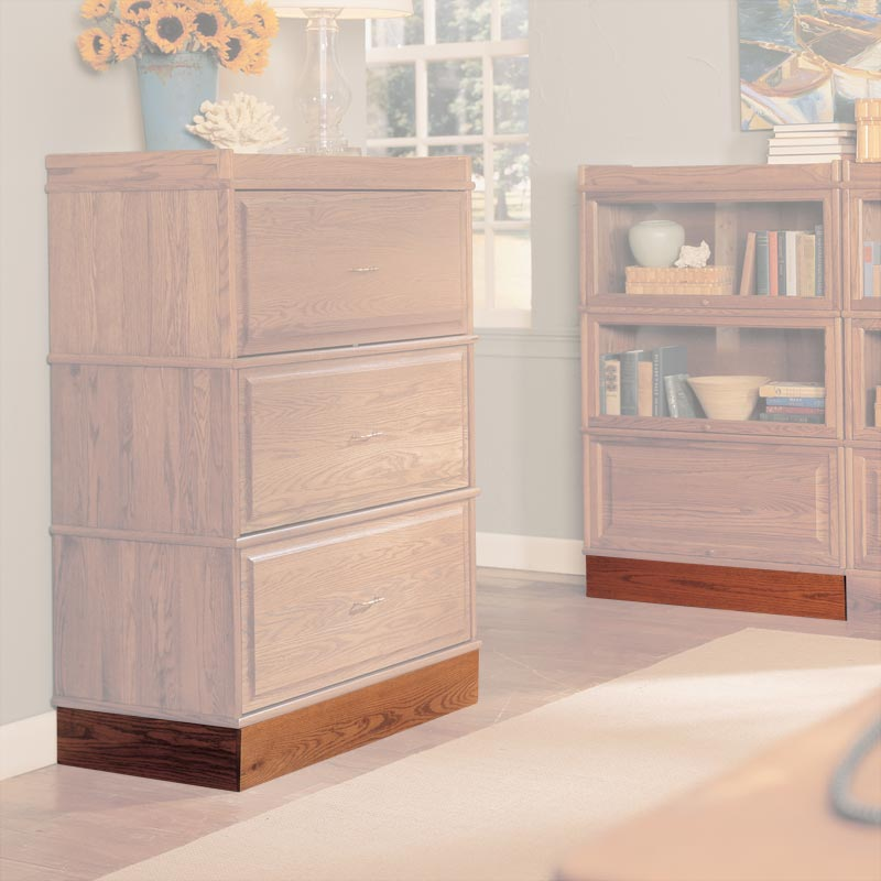 Barrister Lateral Box Base - Natural Cherry