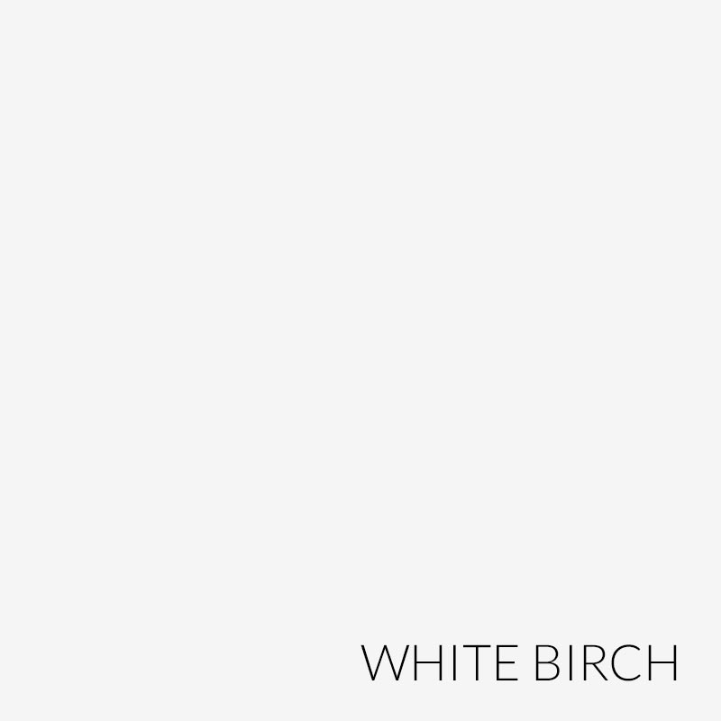 Barrister Solid Door Section - White Birch