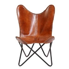 Slope Leather Chair