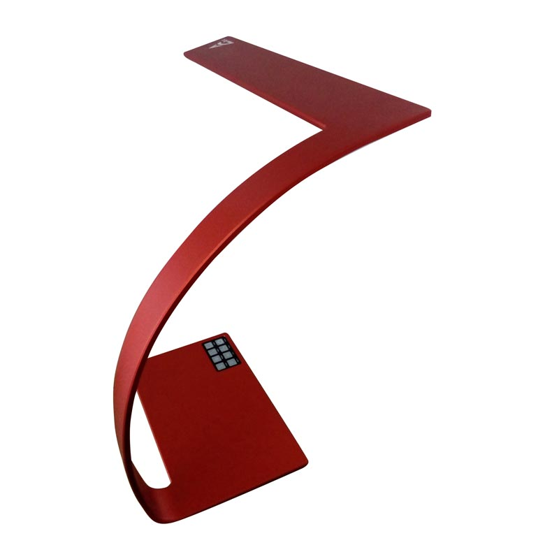 Arc Desk Lamp - Scarlet Red