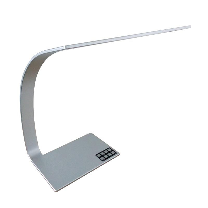 Arc Desk Lamp - Silver