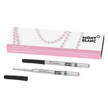Montblanc Ladies Edition Medium Ballpoint Refills 2-Pk Pink