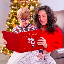 The Night Before Christmas Leather Book