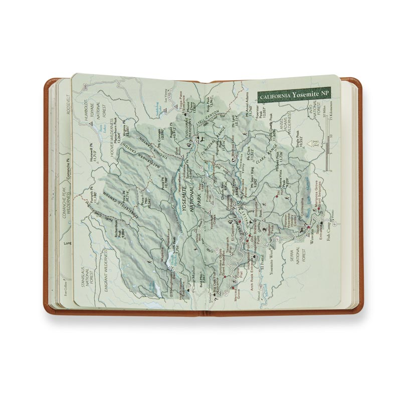 Leather National Parks Book