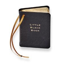 Little Black Book Ornament