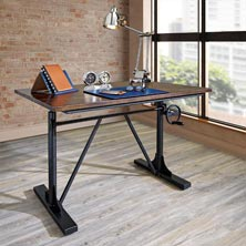Industrial Sit-To-Stand Desk