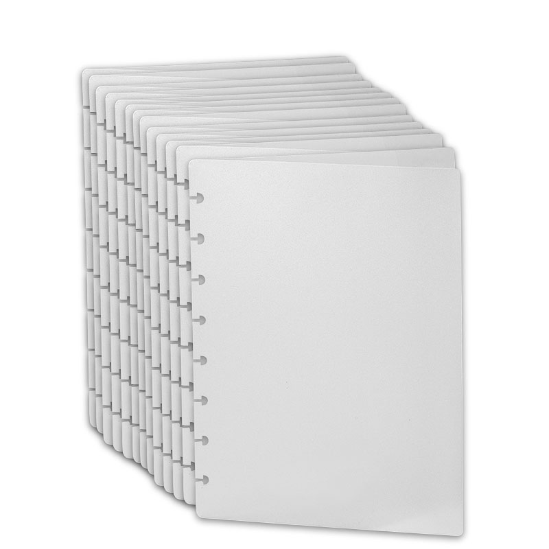 Translucent Circa Notebook Covers (set of 100), Junior