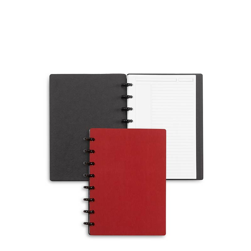 Circa Sliver Foldover Notebook, Red Junior