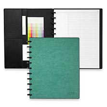 Circa Smooth Sliver Notebook with Pockets
