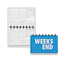 Circa Week's End Notebook, Horizontal Junior