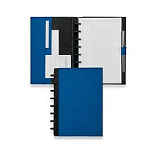 Circa Bookcloth Foldover Notebook, Cobalt Blue, Junior