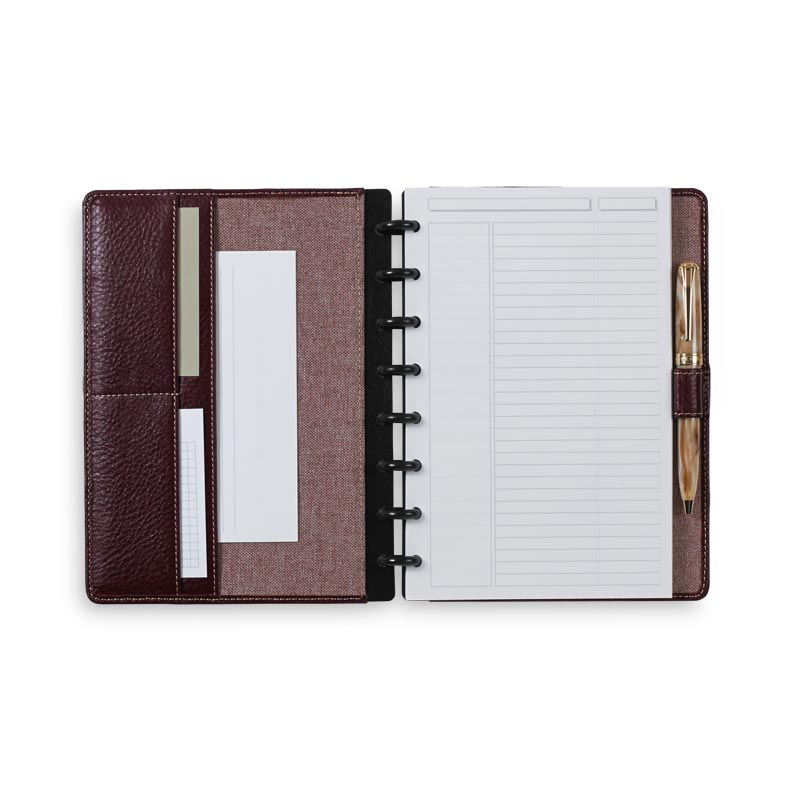 Cordova Circa Foldover Notebook, Oxblood Junior